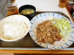 「生姜焼き定食」の画像検索結果