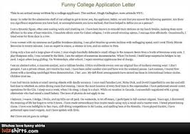 funny college application essay funny college application essays get quirky