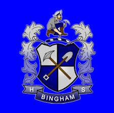Image result for bingham high school logo