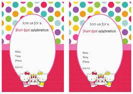 printable hello kitty birthday invitations eysachsephoto com printable hello kitty birthday invitations