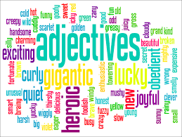 adjectives no harm spilt adjectives