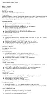 example resume of computer science student computer science    example resume of computer science student computer science student resume   resumes  amp  letters