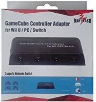 2 in 1 gamecube controller adapter converter for wii u pc wiiu nintend switch ns