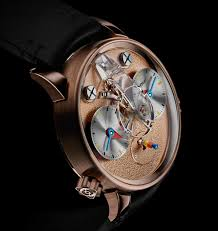 introducing the mb f lm1 silberstein horology middle east three references of the lm1 silberstein will be produced this version has a rose