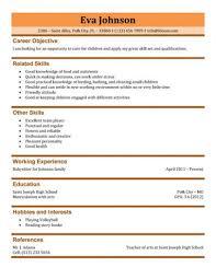 free baby sitter resume samples in wordbabysitter resume template