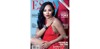 toke makinwa stuns on the cover of essay of africa magazine  toke makinwa stuns on the cover of essay of africa magazine   blueprint afric