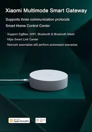 Xiaomi Multimode ZigBee 3.0 WIFI <b>Bluetooth</b> Mesh HomeKit Smart ...