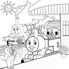 Small Picture Stunning Thomas And Friends Coloring Pages Gallery New Printable