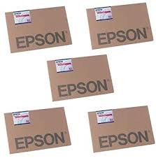 <b>Epson</b> 5x <b>Enhanced Matte Poster</b> Board Inkjet Paper, 1.2mm Thick ...