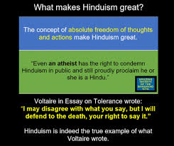 what attracts people to hinduism ed viswanathan pulse linkedin voltaire in essay on tolerance wrote
