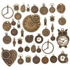 <b>Смешанные</b> антикварные бронзовые часы Часы Dial лицо ...