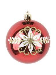 """<b>Шар новогодний</b> """"Рубиновый узор"""",8см <b>Monte</b> Christmas 9237759 ..."""