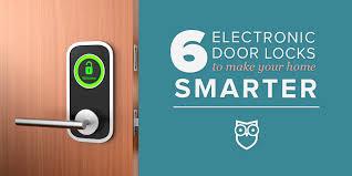 6 Electronic Door Locks