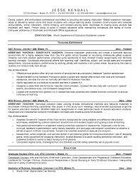 resume special education teacher special education teacher sample resume