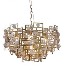 <b>Подвесной светильник Crystal Lux</b> DIEGO SP9 D600 GOLD
