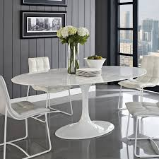 round white marble dining table: furnituremesmerizing white marble dining table sets plus small benches on concrete tiles floor striking