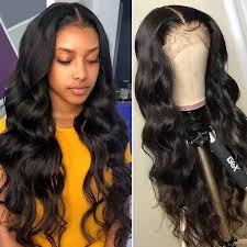 ISEE HAIR <b>Body Wave Lace Front</b> Wig,Pre Plucked Natural Hair ...