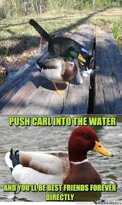 Malicious Advice Mallard Memes. Best Collection of Funny Malicious ... via Relatably.com