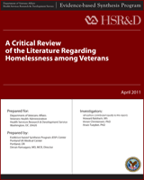 A Critical Review of the Literature Regarding Homelessness Among     NCBI   NIH