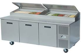 ampamp prep table: npcb randell prep table refrigerated raised rail quotl