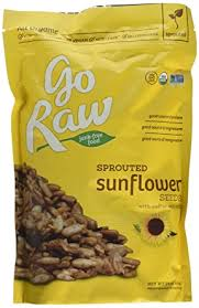 Go Raw <b>Sprouted Organic Sunflower Seeds</b> (Pack of 2 - 1 lb bags ...