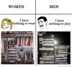 Nothing to wear"