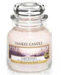 """Yankee Candle <b>Lake</b> Sunset - <b>Ароматическая свеча</b> """"Закат на ..."""