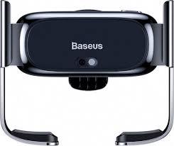 Автомобильный <b>держатель Baseus Mini</b> Electric Car Holder Silver ...