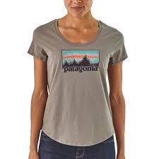 <b>Футболка Patagonia Solar Rays</b> '73 Organic Scoop женская ...