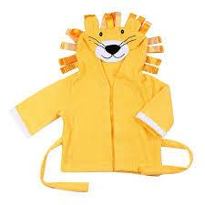 Cute Designs <b>Hooded Animal</b> modeling <b>Baby Bathrobe</b> Cartoon ...