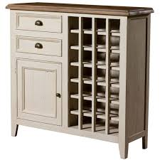 Four Hands Traditional White <b>Wine Rack</b> Furniture Design ...