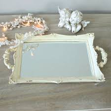 image is loading distressed cream vanity tray shabby french style vintage chic shabby french style