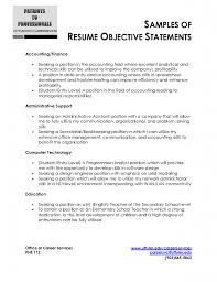 astonishing career objective resume example brefash career objective examples for resume for fresher 10 s resume career goals resume example career objective