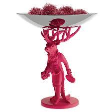 <b>Блюдо декоративное Furbo</b> розовое от <b>Alessi</b> (арт. KI01 FP ...
