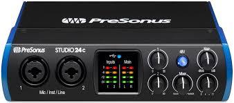 <b>PreSonus Studio</b> 24c – <b>аудиоинтерфейс</b> с USB-С . Новинка 2019