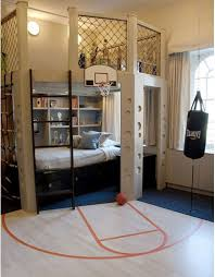 basketball bedroom. If I could ever afford this when I have kids this would  be