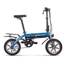 <b>Richbit</b> 250W RT-618 Portable Folding <b>Electric Bike</b> with Removable ...