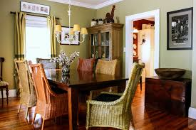 dining room khaki tone: earth tones dining room traditional remodeling ideas with rectangular dining table china cabinet