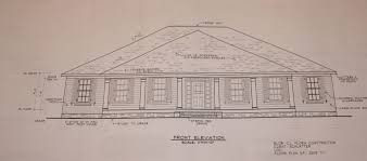 Front view and floor planFloor plan  front elevation
