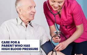 How to <b>Care</b> For a Parent Who Has High <b>Blood Pressure</b>