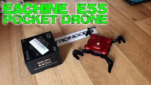 Eachine E55 <b>Mini WiFi FPV drone</b> - REVIEW - YouTube