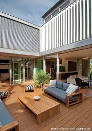 outdoor furniture for small balcony with contemporary deck balcony outdoor furniture
