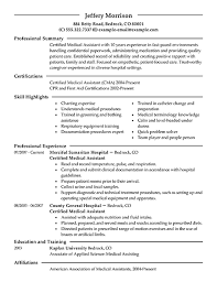 objective for medical resume  thingshare cosample objectives for resumes for medical assistants medical assistant resume example modern medical scribe resume sample   objective for medical resume