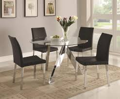 All Glass Dining Room Table Best Of Glass Topped Dining Room Tables Lushome Glass Top Tables