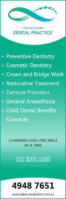 lake macquarie dental practice dentist the esplanade lake macquarie dental practice promotion