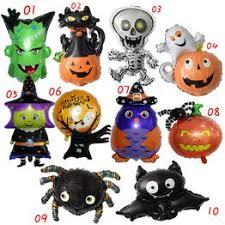3PCS 16inch Mini Halloween Balloons Spider Skull Globos ... - Vova