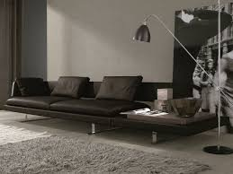 curvaceous gray dark with awesome italian sofas