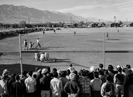 farewell to manzanar writework ansel adams baseball game at manzanar war relocation center owens valley california