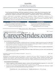 event planner cv example for marketing livecareer  event planner    event planner resume sample event coordinator job description