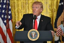 Image result for trump press conference images